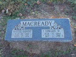 Edward Daniel Macready