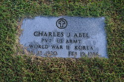 Pvt Charles J Abel
