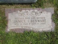 Janice Irene Miller <i>Learned</i> Benware