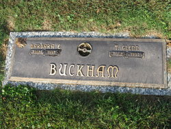 Barbara Elizabeth <i>Daniels</i> Buckham