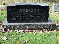 Gertrude M. <i>Valentine</i> Anderson