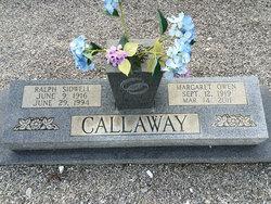 Margaret <i>Owen</i> Callaway