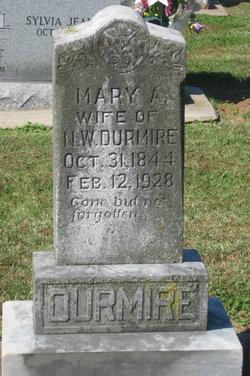 Mary Amanda <i>Hines</i> Durmire