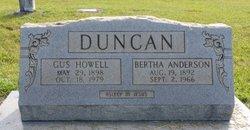 Bertha <i>Anderson</i> Duncan