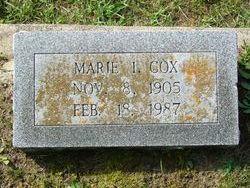 Marie <i>Inman</i> Cox