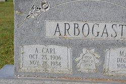 A. Carl Arbogast
