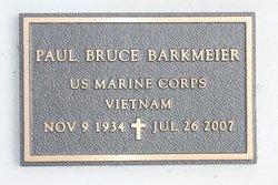 Paul B. Bruce Barkmeier
