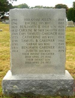 Rachel <i>Gardiner</i> Allen
