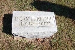 Mrs Mary Lougenia <i>Sims</i> Reavis