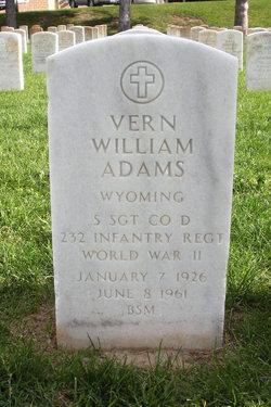 Vern W Adams