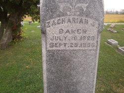 Pvt Zachariah Jacob Baker