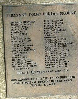 Pleasant Point Cemetery