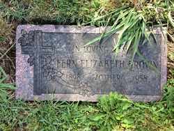Fern Elizabeth <i>Stansberry</i> Brown