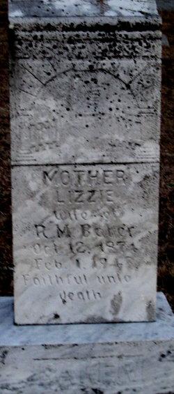 Lizzie <i>Byrd</i> Baker