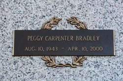 Peggy <i>Carpenter</i> Bradley