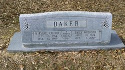 Emily <i>Wofford</i> Baker