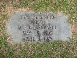 Louise <i>Bullington</i> Barnhardt
