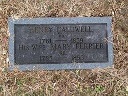 Mary <i>Ferrier</i> Caldwell