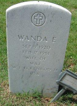 Wanda E Eckenrod