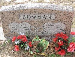 Addie Mae <i>Reid</i> Bowman