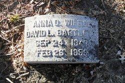 Anna <i>Oakes</i> Bartlett