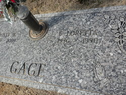 Evelyn Loretta <i>Hicks</i> Gage