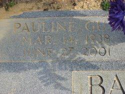 Pauline <i>Guy</i> Barefoot