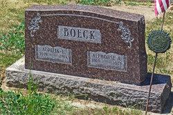 Alphonse A Boeck
