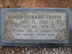 Harold Norman Cooper