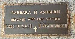 Barbara Ann <i>Heath</i> Ashburn