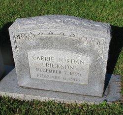 Carrie <i>Jordan</i> Erickson