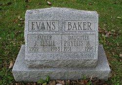 Phyliss Marie <i>Evans</i> Baker