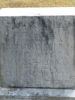 Ella Imogene <i>Hill</i> Schofield