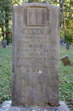 Anna Catherine <i>Harnsbarger</i> Baugher