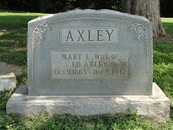 Mary L Axley