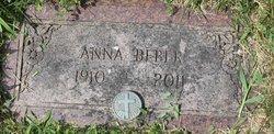 Anna <i>Schmidt</i> Beber