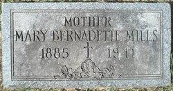Mary Bernadette Dette <i>Fowler</i> Mills