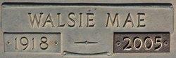 Walsie May <i>Merrell</i> Spangenberg