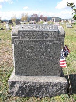 Anna Maria Mary <i>Kuhn</i> Adrian