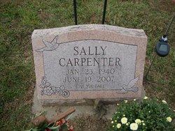 Sally Ann <i>Sloas</i> Carpenter
