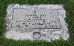 Betty Jo <i>Gabbart</i> Brackett