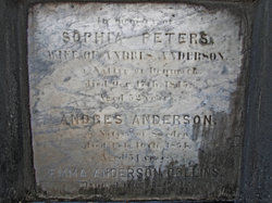 Sophia <i>Peters</i> Anderson
