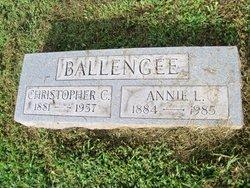 Anna L Annie <i>Cart</i> Ballengee