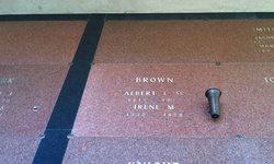 Albert L Brown, Sr