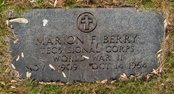 Marion Frederick Berry