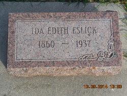 Ida Edith <i>Green</i> Eslick