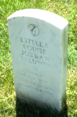 Estella Louise <i>Jordan</i> Baldwin