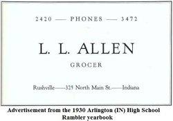 Lawrence L Allen