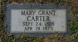 Mary Grant <i>Grant</i> Carter
