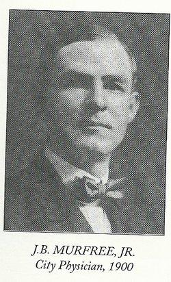 Dr James Brickell Murfree, Jr